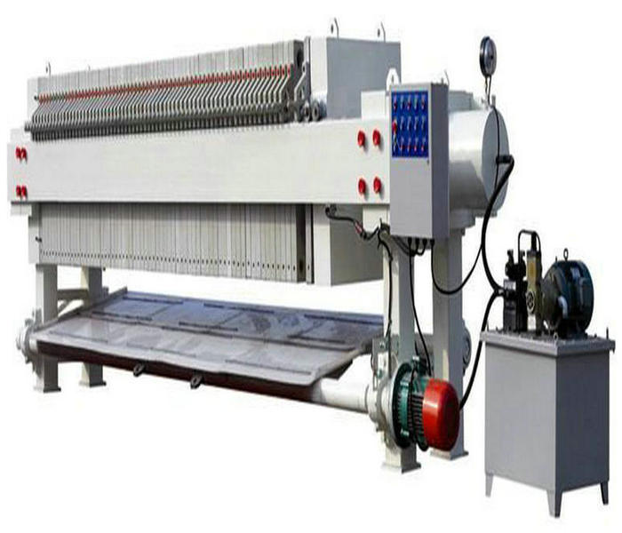 Automatic Filter Press with High Pressure Hydraulic Pump