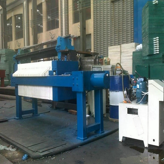 Sewage Sludge Dewatering Frame Filter Press