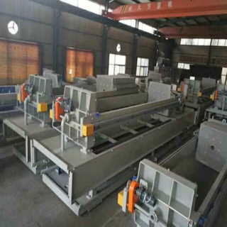 Horizontal Hydraulic Press Filter Sugar Plant
