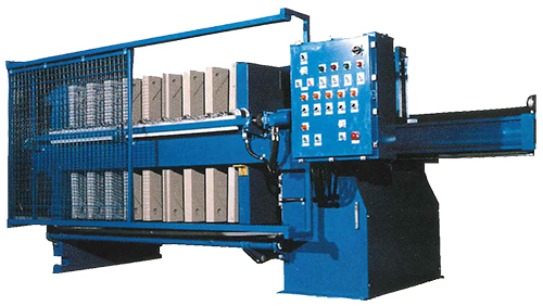 High Pressure Paper Industry Plate Frame Filter Press