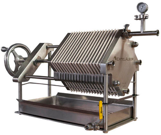 Food Industry Stainless Steel 304 Chamber Filter Press