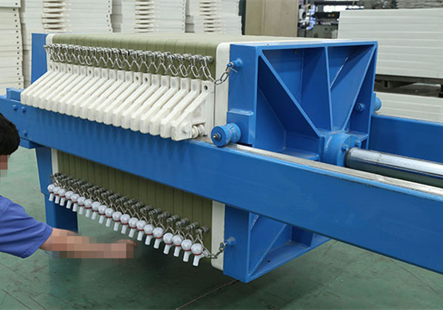 Solid Liquid Separation Plate and Frame Filter Press