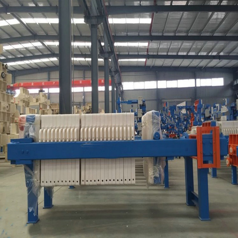 Automatic Chamber Cloth Washing Coal Filter Press