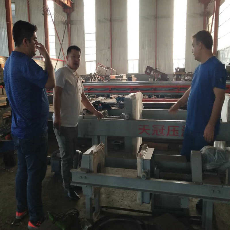 200㎡ Plate Frame Edible Oil Filter Press