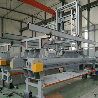 Automatic Hydraulic Metallurgy Cast Iron Filter Press