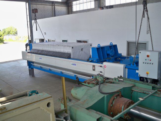 Sludge Sewage Filtration Treatment Filter Press