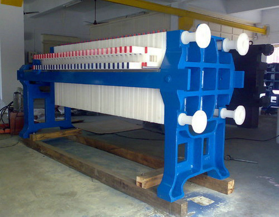 Chamber Filter Press For Chemical Industry Automatic