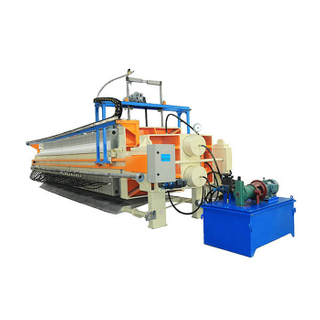 Durable Metallurgy Cast Iron Filter Press For Industrial