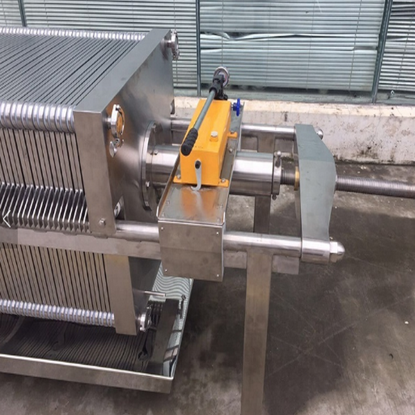 Automatic Stainless Steel Wine And Oil Filter Press