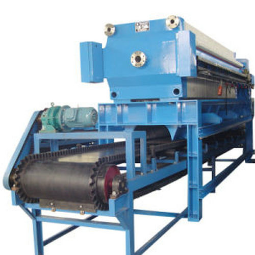 Industrial Hydraulic Frame Filter Press For Paper Making