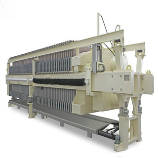 Industrial HIgh Capacity Chamber Filter Press Machine
