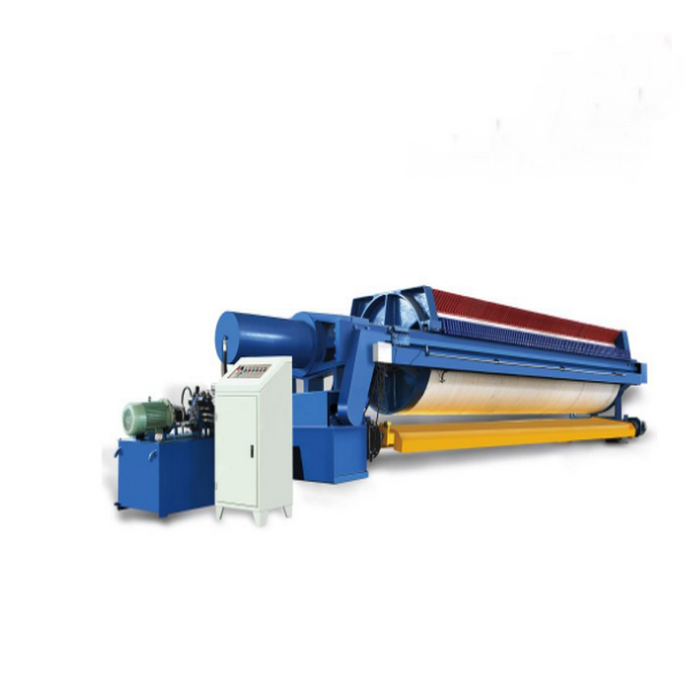 Special Designed Fully Automatic Round Plate Filter Press
