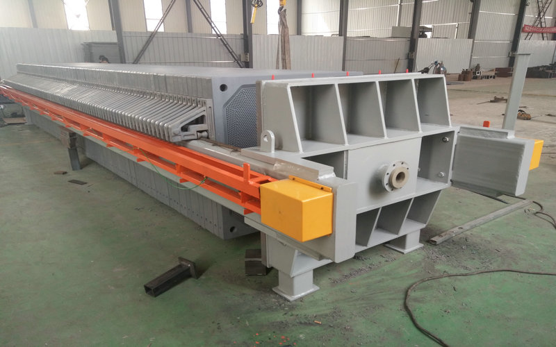 Coal Washing Chamber Filter Press With PLC Control