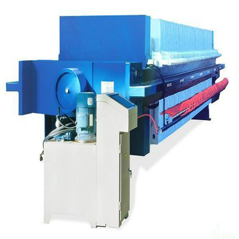 Automatic Hydraulic Pottery Chamber Filter Press from