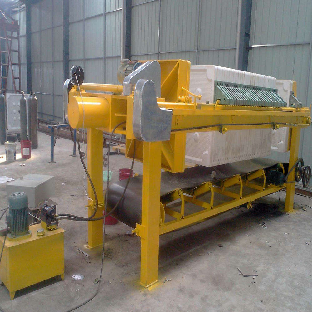 Coal Washing Hydraulic Plate Frame Filter Press