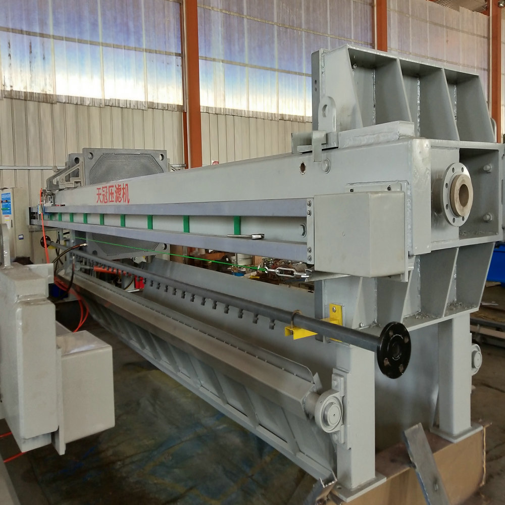 Municipal Waste Water Treatment Plate Filter Press