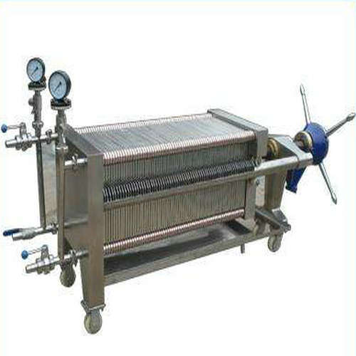 Hydraulic Driven Pharmacy Cast Iron Filter Press