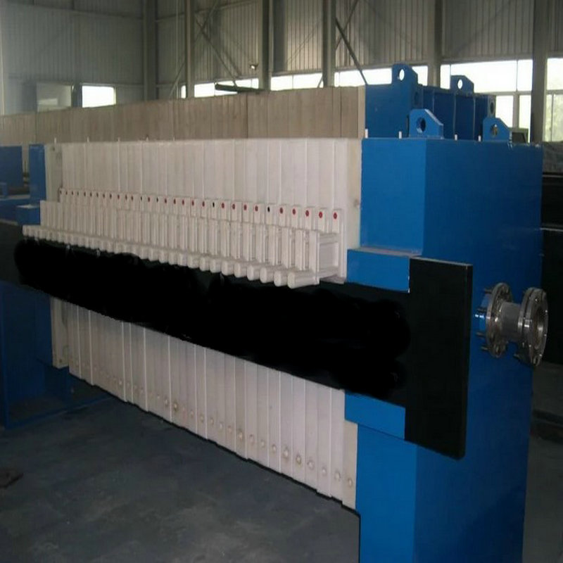 Low Moisture Content Membrane Squeezing Filter Press