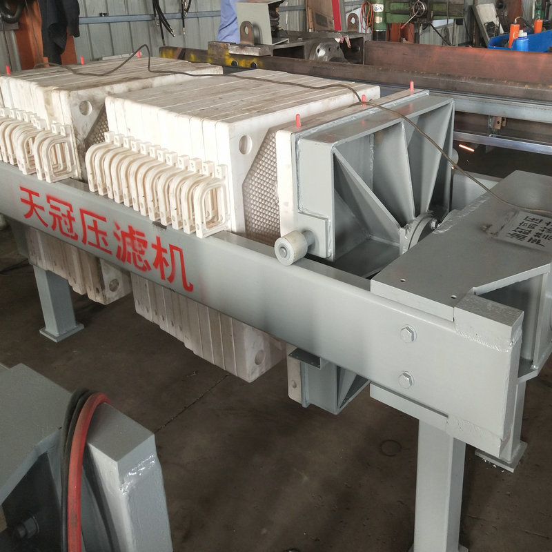 Mechnical Press Manual Type Chamber Filter Press