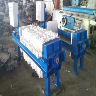 Automatic Sewage Diaphragms Cast Iron Filter Press