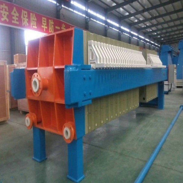 Automatic Cloth-Washing Chamber Slurry Clay Filter Press