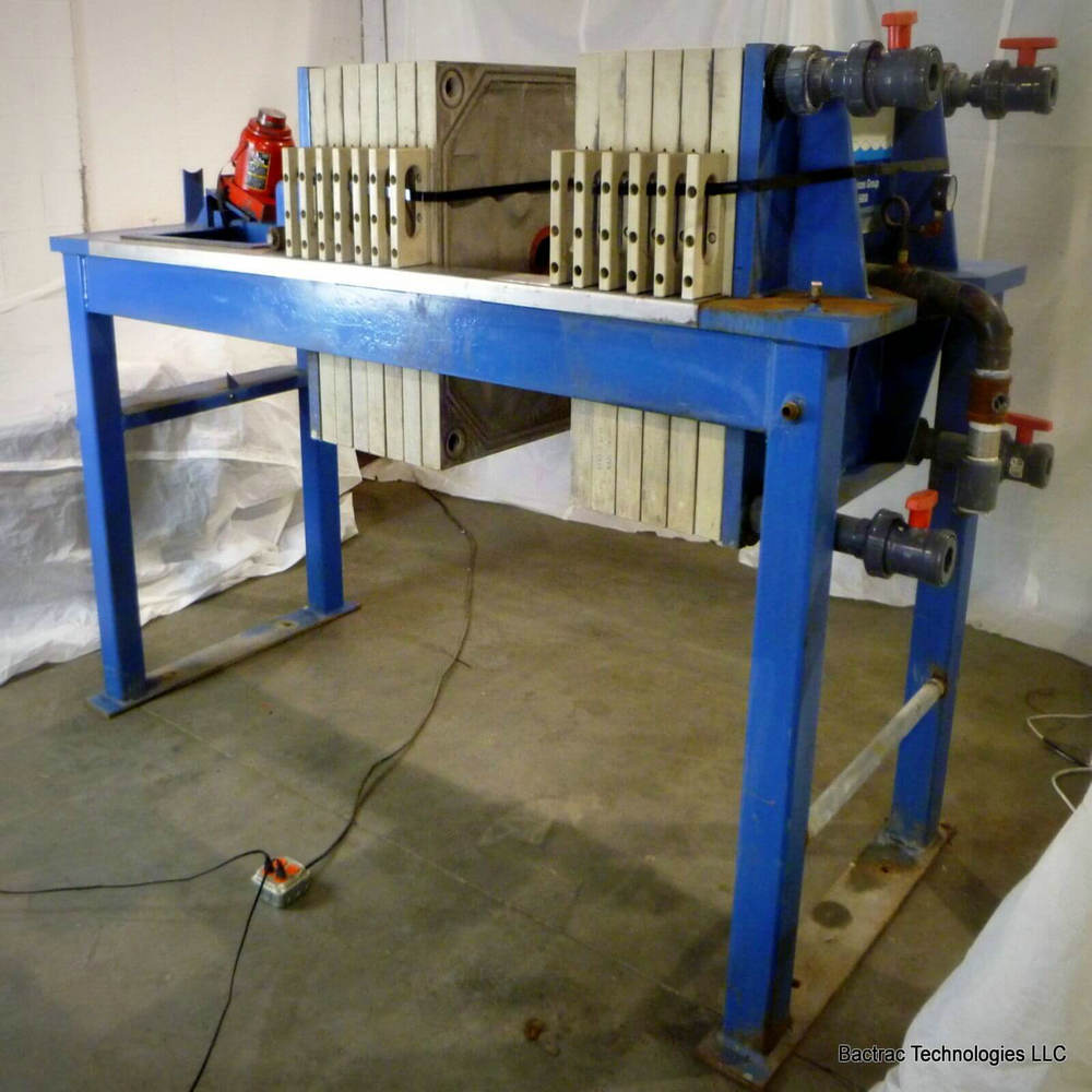 Manual Operation Chamber Filter Press