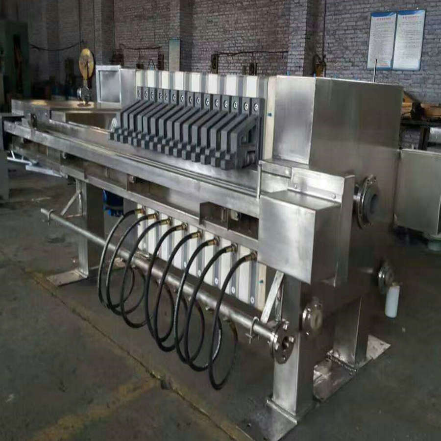Stainless Filter Press With Good Quality Low Price