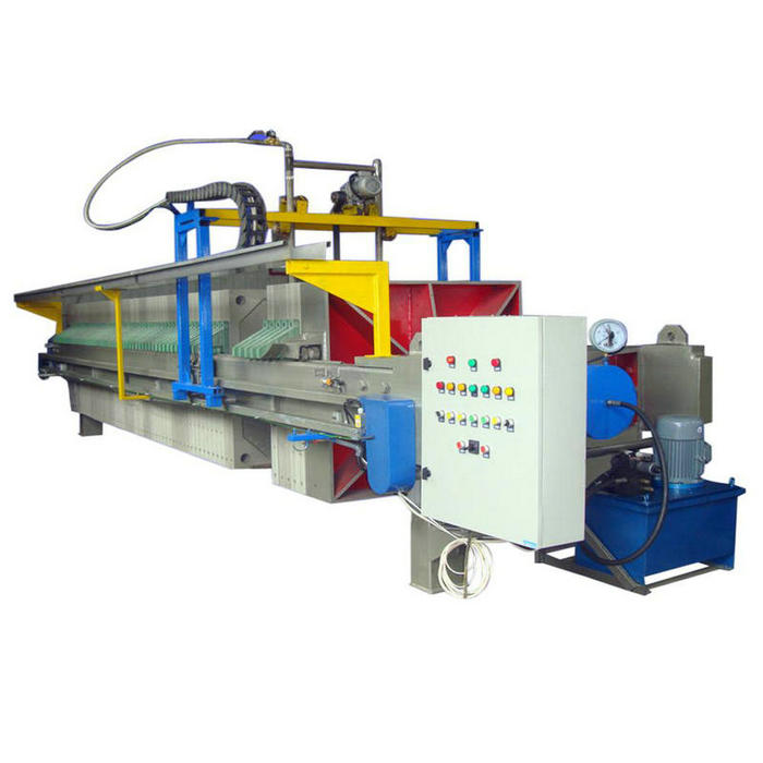 High Performance Paper Industry Chamber Filter Press