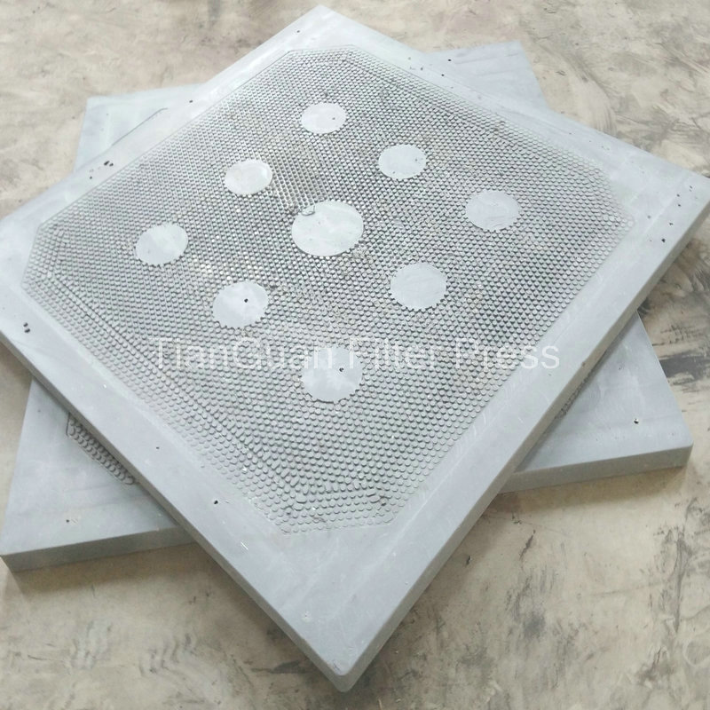 Filter-Cloth Washing Coal Wishing Plate Frame Filter Press