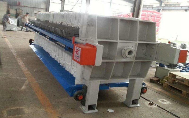 Mineral Processing Metallurgy Cast Iron Filter Press