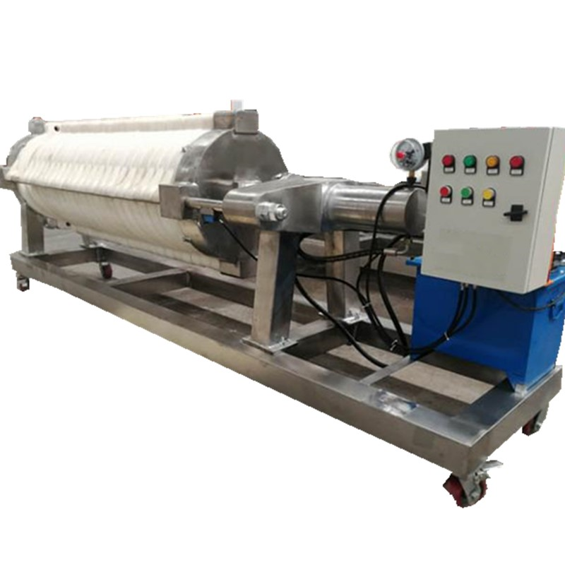 Fully automatic diaphragm clay slurries filter press