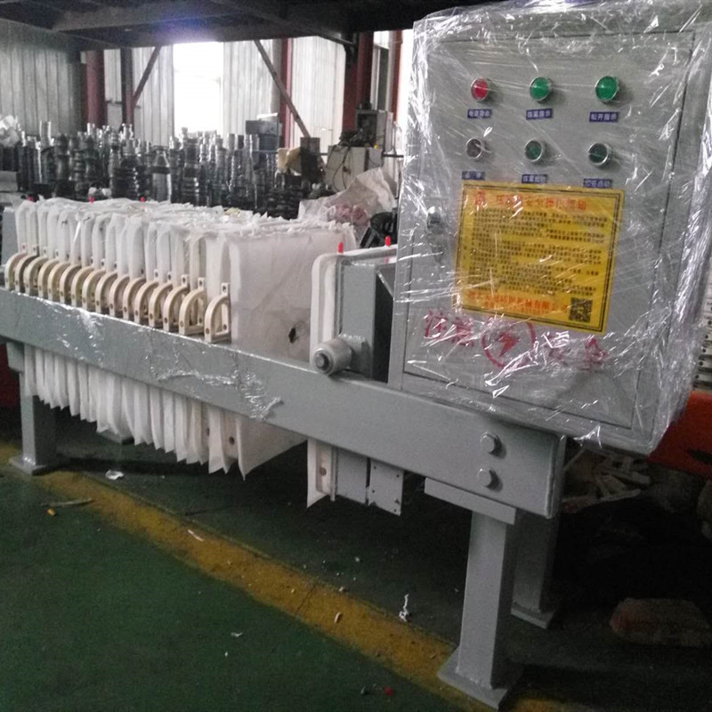 High efficiency automatic high quality coal slurry well oil filter press